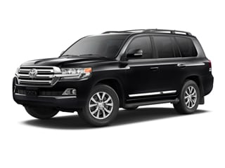 2018 Toyota Land Cruiser SUV Midnight Black Metallic
