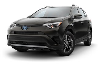 New 2018 Toyota RAV4 Hybrid LE SUV Arlington