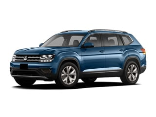 2018 Volkswagen Atlas SUV Tourmaline Blue Metallic