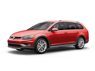 2018 Volkswagen Golf Alltrack Wagon Tornado Red