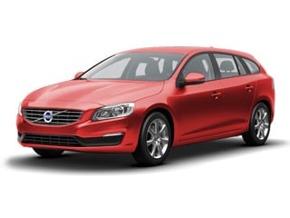 2018 Volvo V60 Wagon Passion Red