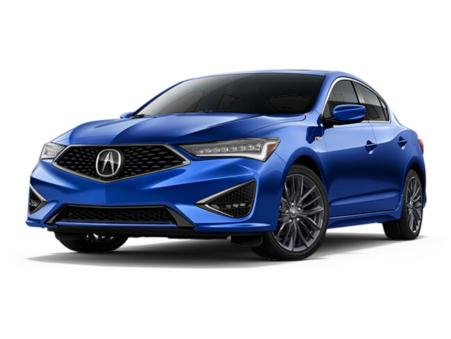 New 2019 Acura ILX With Technology And A-Spec Package