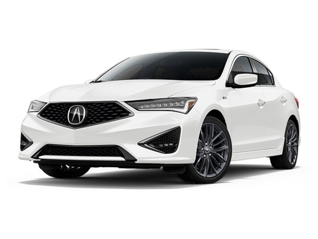 New 2019 Acura ILX with Technology and A-Spec Package Sedan