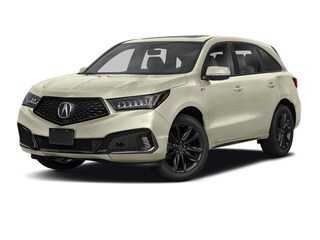 New 2019 Acura MDX SH-AWD with A-Spec Package SUV in Valley Stream, NY