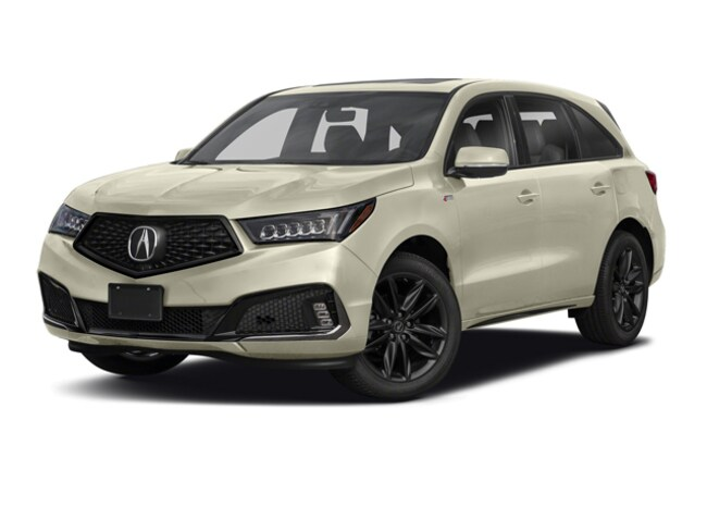 New 2019 Acura MDX SH-AWD with A-Spec Package SUV Temecula