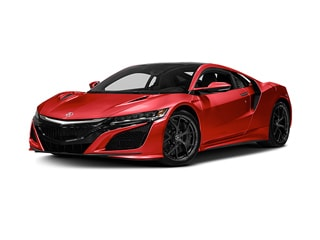 2019 Acura NSX Coupe Valencia Red Pearl