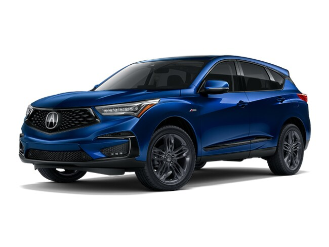 New 2019 Acura Rdx With A Spec Package Suv Apex Blue Pearl For Sale