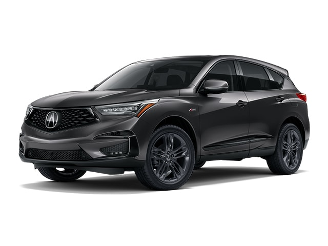 2019 Acura Rdx With A Spec Package Suv Modern Steel Metallic For