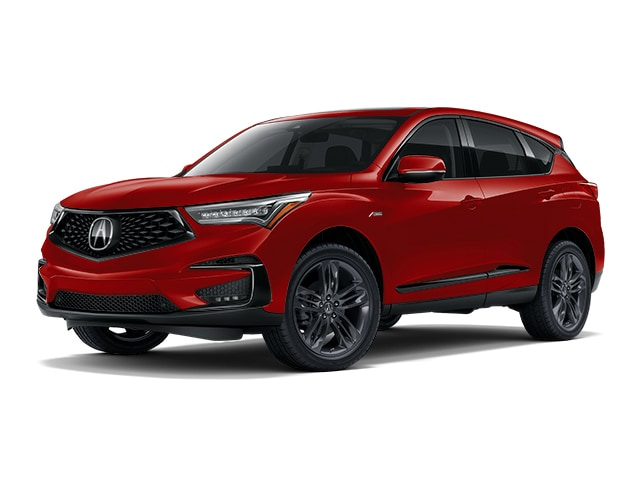 2019 Acura Rdx With A Spec Package Suv Performance Red Pearl For