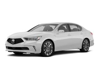 2019 Acura RLX Sedan Platinum White Pearl