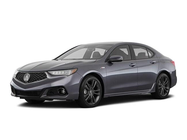 New 2019 Acura TLX 3.5 V-6 9-AT P-AWS with A-SPEC Sedan Macon, GA