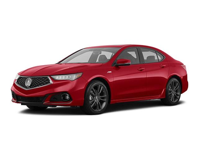 2019 Acura TLX 3.5L Tech & A-Spec Pkgs w/Red Leather Sedan