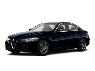 2019 Alfa Romeo Giulia Sedan Vulcano Black Metallic