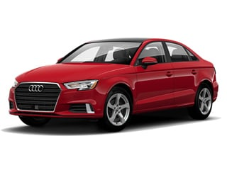 2019 Audi A3 Sedan Tango Red Metallic