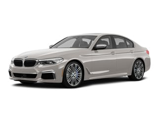 2019 BMW M550i Sedan Rhodonite Silver Metallic