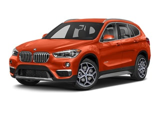 2019 BMW X1 SUV Sunset Orange Metallic