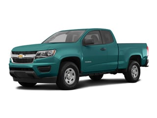 2019 Chevrolet Colorado Truck Woodland Green