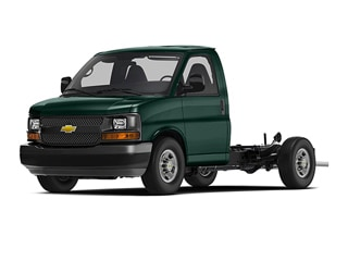2019 Chevrolet Express Cutaway Truck Woodland Green