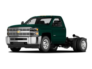 2019 Chevrolet Silverado 3500HD Chassis Truck Woodland Green