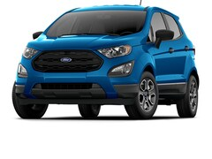 New 2019 Ford EcoSport S Crossover MAJ3S2FE8KC296012 for Sale in Stafford, TX at Helfman Ford