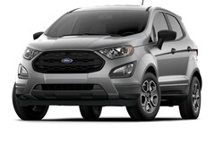 New 2019 Ford EcoSport S SUV in Jamestown, NY