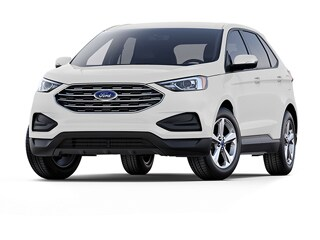 2019 Ford Edge SUV White Platinum Metallic Tri