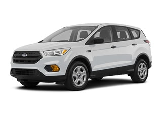 2019 Ford Escape SUV White Platinum Tri