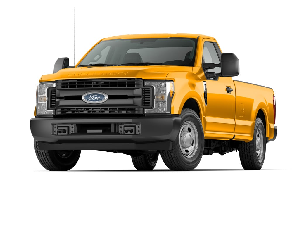 2019 Ford F-250 Truck Yellow