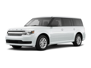 2019 Ford Flex SUV White Platinum Metallic Tri