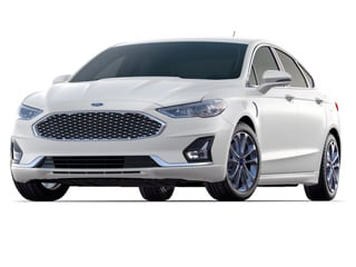 2019 Ford Fusion Energi Sedan White Platinum Metallic