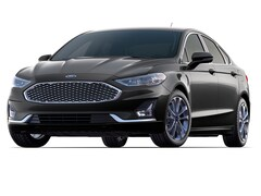 New 2019 Ford Fusion Energi Titanium Car Boston, MA