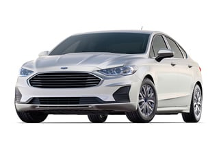2019 Ford Fusion Sedan White Platinum Metallic Tri