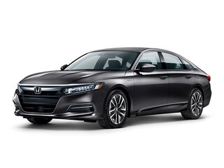 New 2019 Honda Accord Hybrid Base Sedan 1HGCV3F14KA020296 for sale in Fairfield, CA at Steve Hopkins Honda