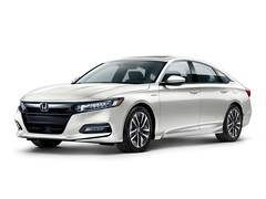 New 2019 Honda Accord Hybrid EX-L Sedan 1HGCV3F54KA001668 for Sale in Clinton Township at Jim Riehl's Friendly Honda