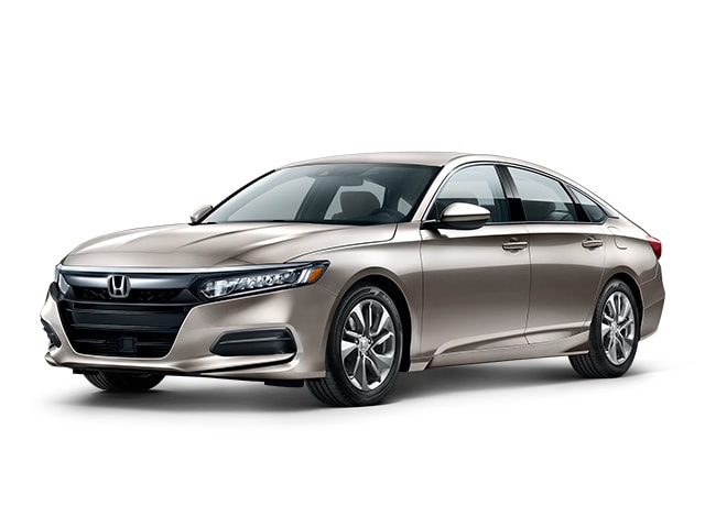 2019 Honda Accord in Champagne Frost color