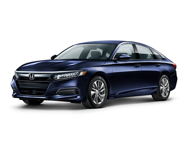 2019 Honda Accord in Obsidian Blue Pearl color