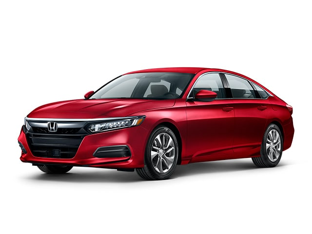 2019 Honda Accord in Radiant Red Metallic color