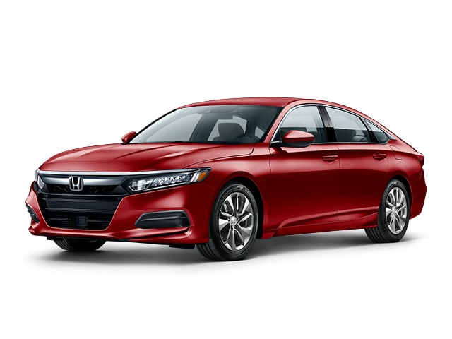 2019 Honda Accord in San Marino Red color