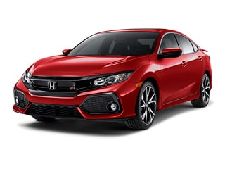 2019 Honda Civic Si Sedan Rallye Red