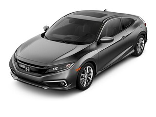 New 2019 Honda Civic EX CVT Coupe KH350084 for sale near Fort Worth TX