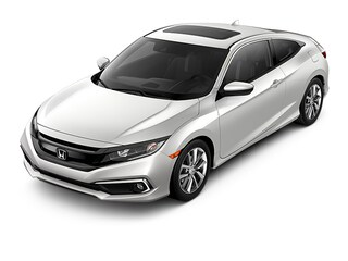 New 2019 Honda Civic EX CVT Coupe KH350372 for sale near Fort Worth TX