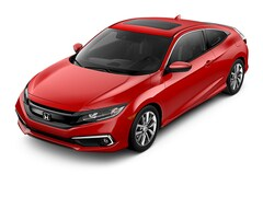 New 2019 Honda Civic EX Coupe 2HGFC3B37KH353166 in Corona, CA