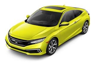 New 2019 Honda Civic Touring Coupe 00H90405 near San Antonio