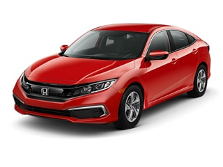 2019 Honda Civic Sedan Rallye Red
