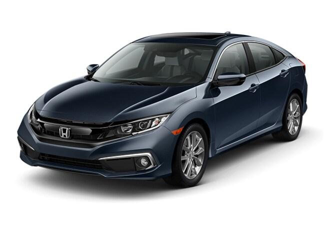 New 2019 Honda Civic EX-L Sedan Near Bridgeport