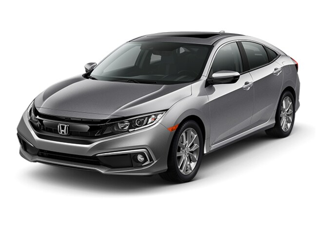 New 2019 Honda Civic EX-L Sedan Near Bridgeport