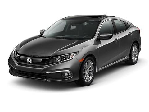 2019 Honda Civic EX-L CVT Car