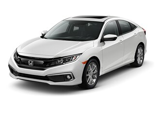 New 2019 Honda Civic EX-L Sedan Hopkins