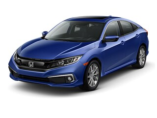 New 2019 Honda Civic EX Sedan 00H92421 for sale near San Antonio, TX