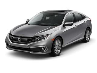 New 2019 Honda Civic EX Sedan 19XFC1F34KE016169 0H193689 for sale in Houston, TX